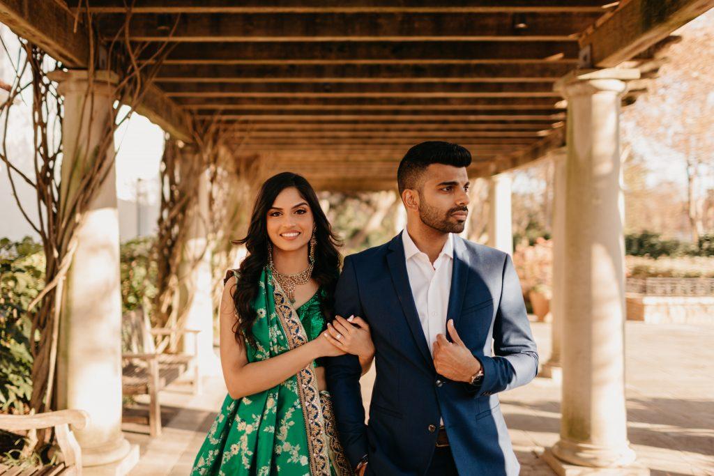 Engagement photos outside